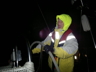 clipper 13-14 race crew training happy night sailing
