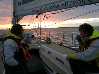 clipper 13-14 race crew training cup of tea