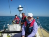 clipper 13-14 race crew training posse on deck