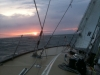clipper 13-14 race crew training sunset